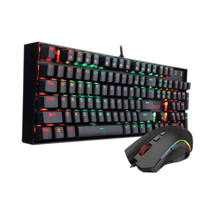 Combo Gamer Redragon:  Teclado Mitra K551 RGB  Mecánico + Mouse Griffin M607